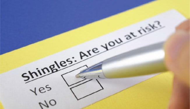 shingles risk factor